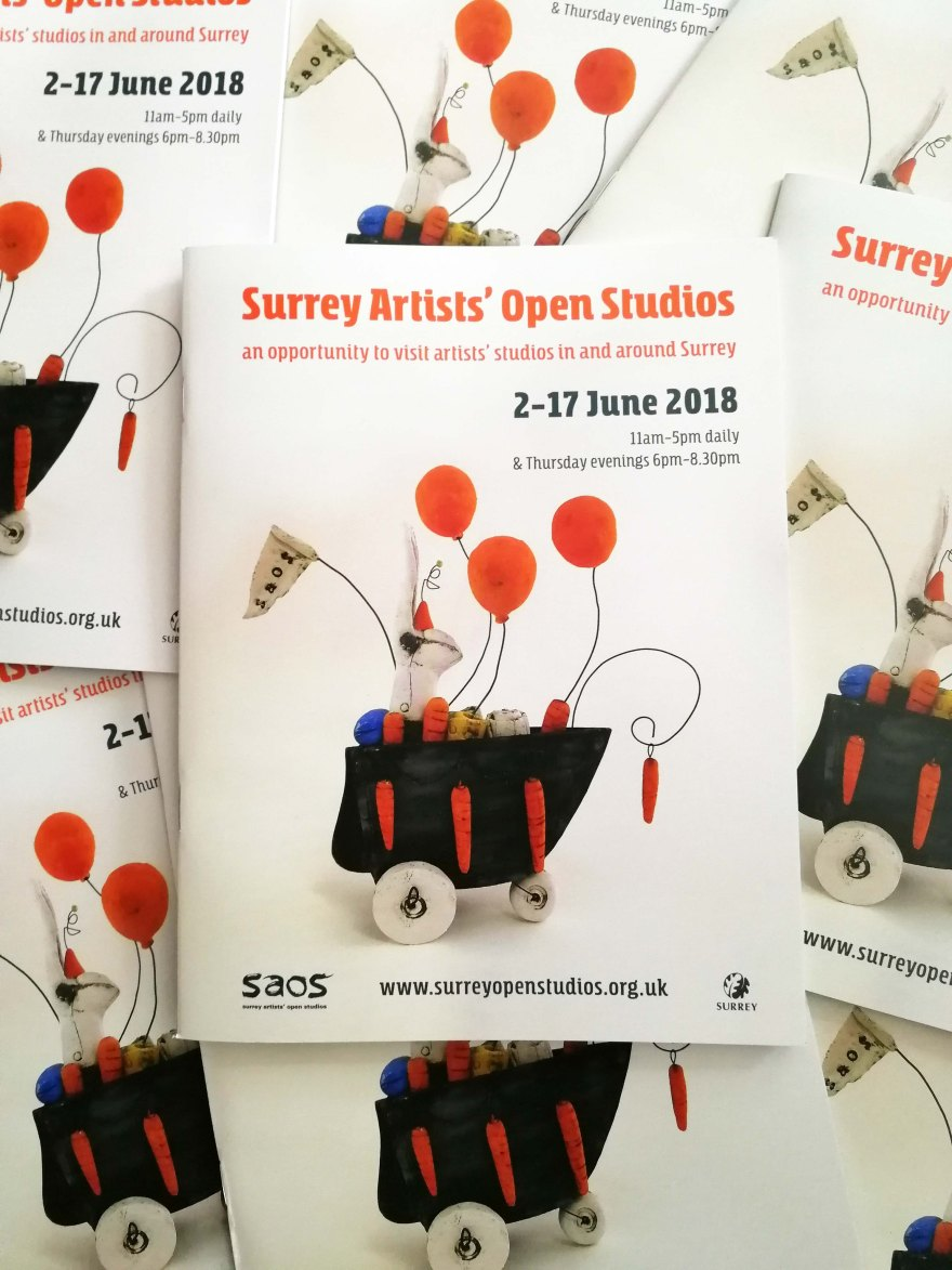 Surrey Artists' Open Studios, animal art, wildlife art, Merstham art studio